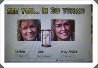 Veja como você ficará daqui a 20 anos!