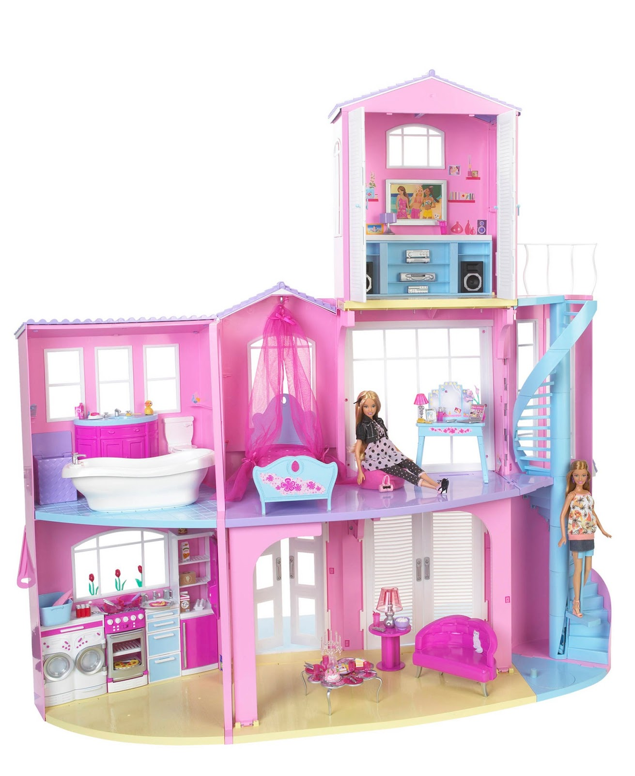 real barbie dream house games