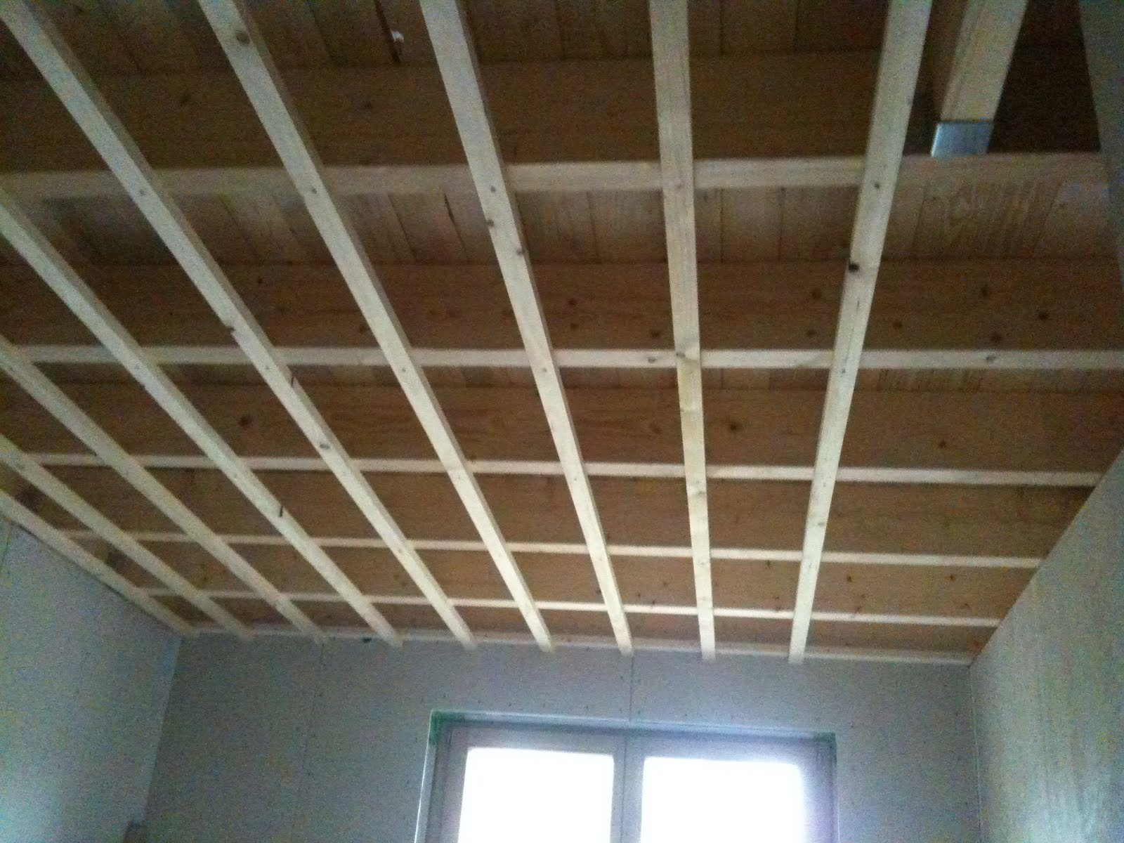 hausbau mit murr holzhaus neuburg decke dachfenster und die ersten fensterlaibungen. Black Bedroom Furniture Sets. Home Design Ideas