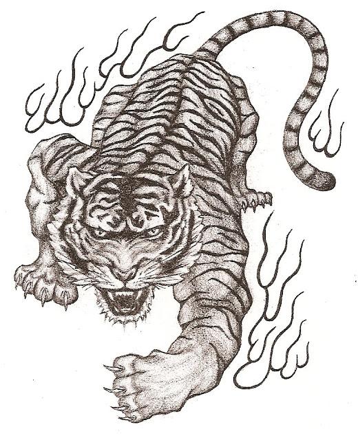 griffe tattoo tigre fotos desenhos e tattoo