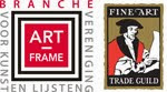 Aangesloten bij de Nederlandse en Engelse branchevereniging voor kunst en lijsten