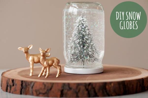 Orchard girls inexpensive homemade christmas gifts diy for Easy homemade christmas snow globes