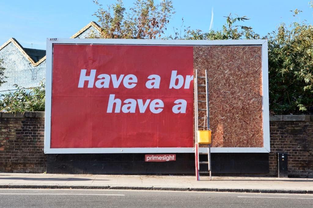 Kit kat break billboard great ads for Advertising agency uk