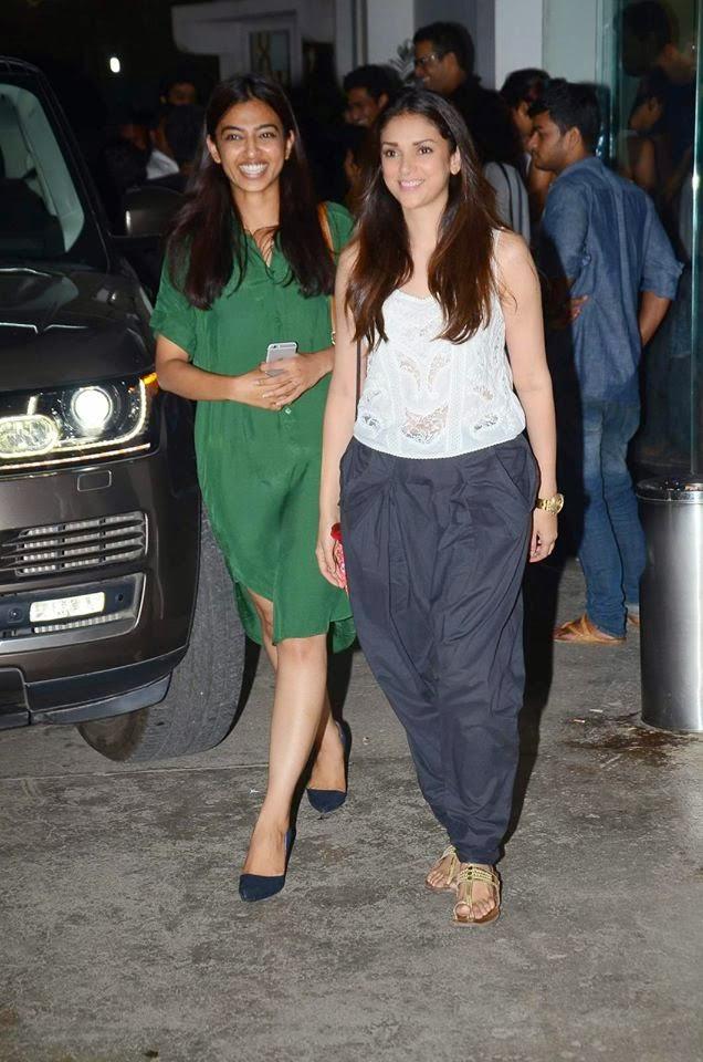 Anushka Sharma at 'Bombay Velvet' Screening on her Birthday