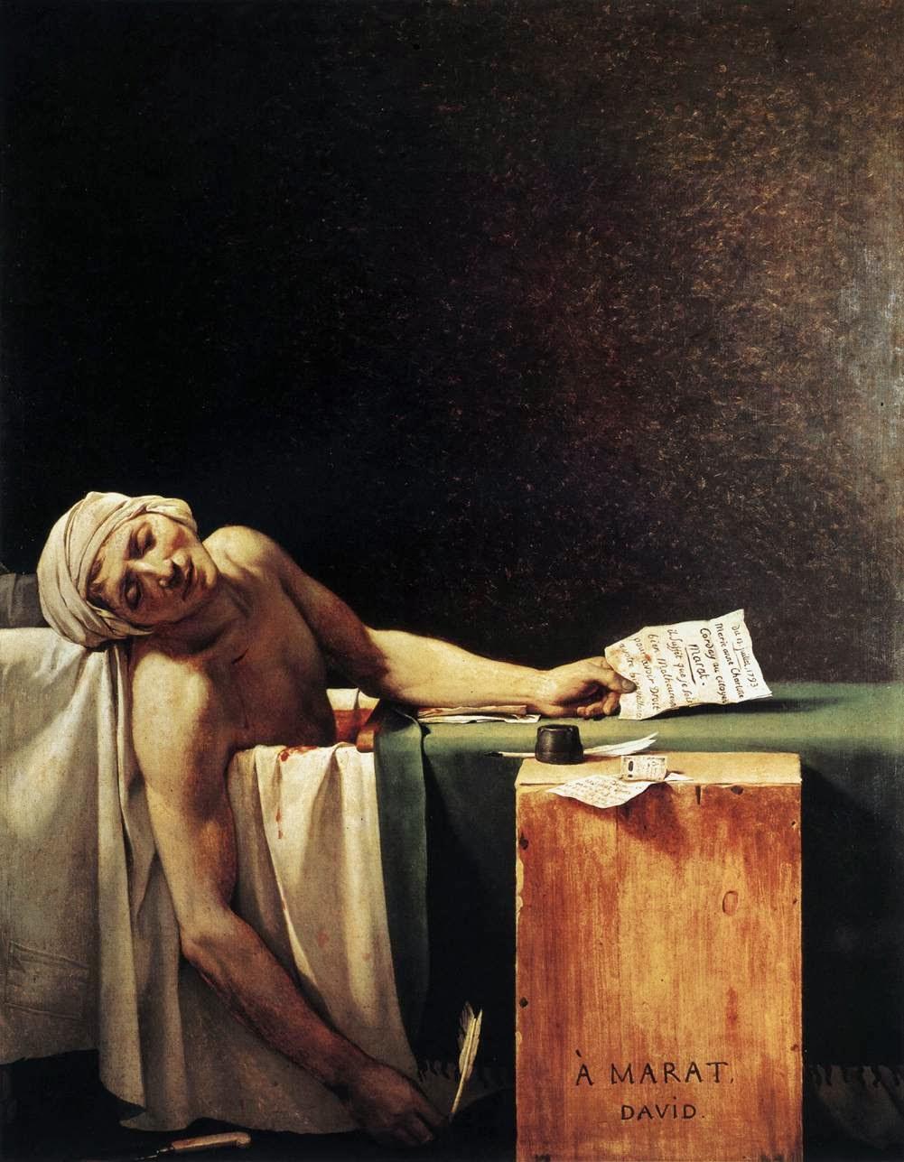 La Mort de Marat, 1793