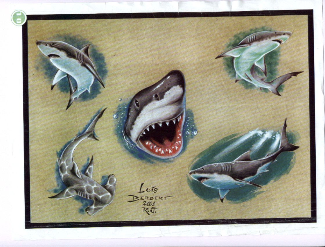 Traditional shark tattoo designs - photo#22