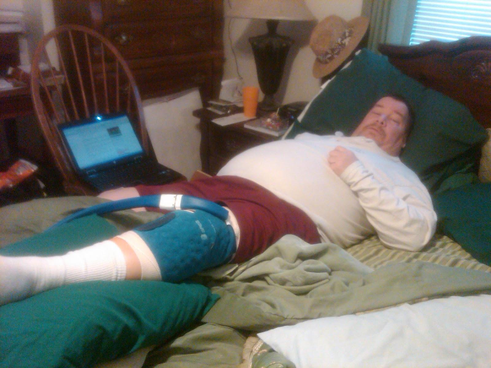 Fosters Of Amelia Steve S Knee Surgery 2 14 2011