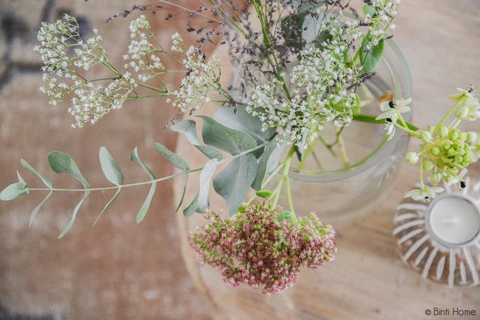 Bloemen styling wit en eucalyptus | Binti Home