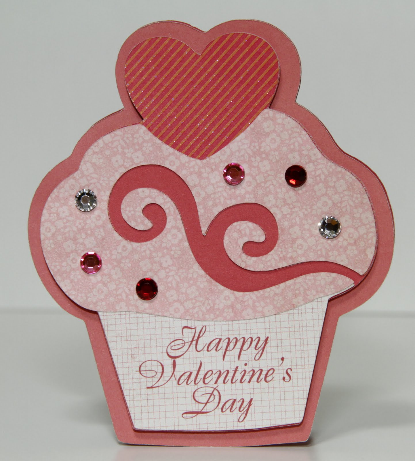 The paper boutique homemade earrings and valentine s card for Cute valentines day card ideas