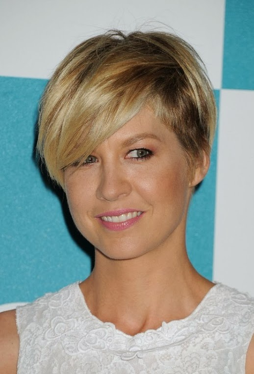 jenna elfman short hair 2013