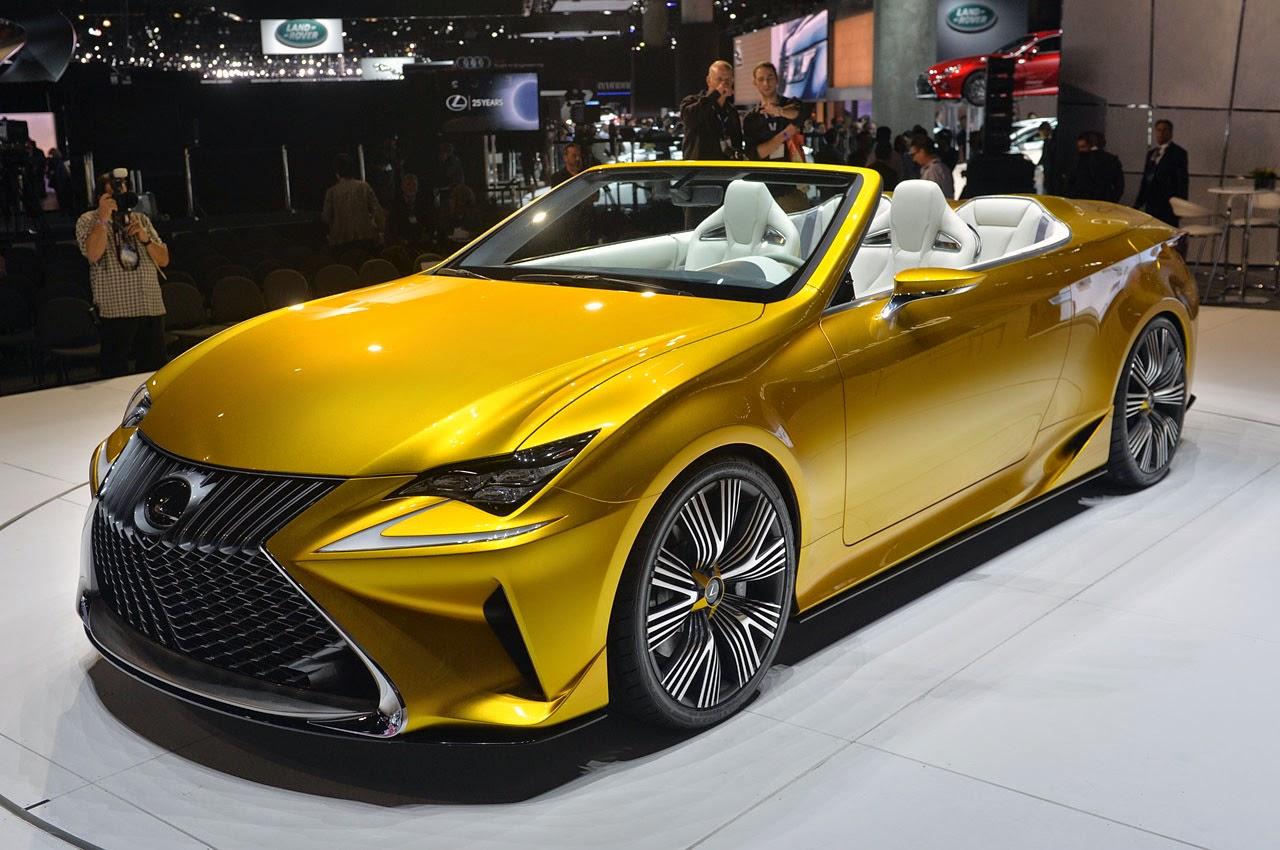 Nuevo Lexus LF-C2 Concept