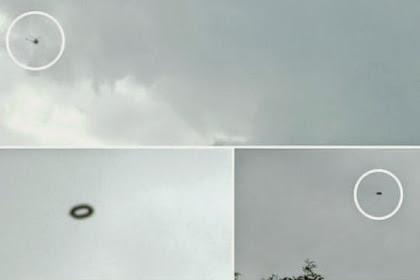 Satu Keluarga Dikagetkan oleh Penampakan Empat UFO