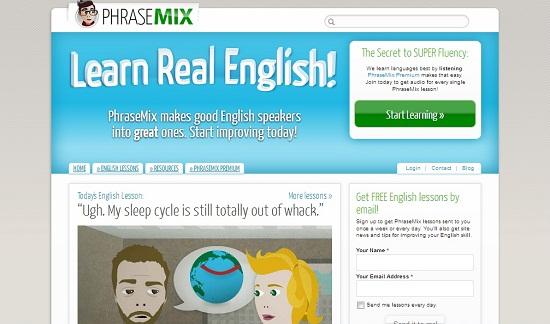 PhraseMix makes good English speakers into great ones.