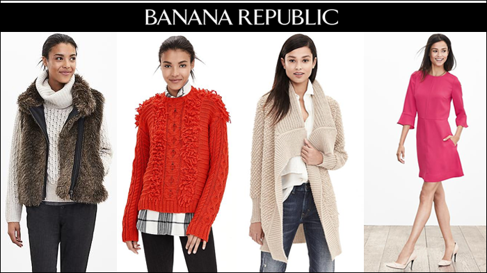 banana republic, fuzzy sweaters, fringe sweaters, party dress, black friday 2015 deals