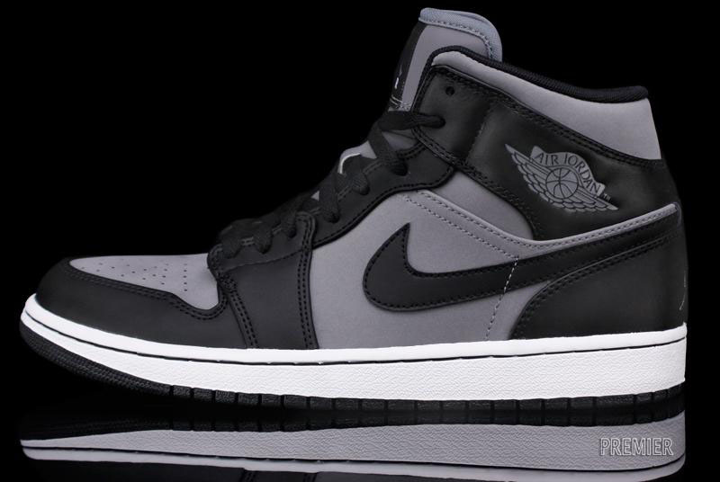 air jordan 1 black grey