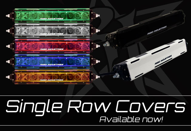 Rigid industries announces the release of their single row light bar rigidindustries 630srcoversg aloadofball Images