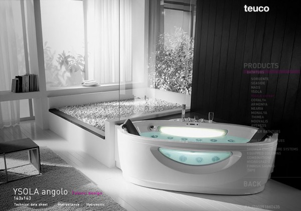 Futuristic Bathroom Design Idea