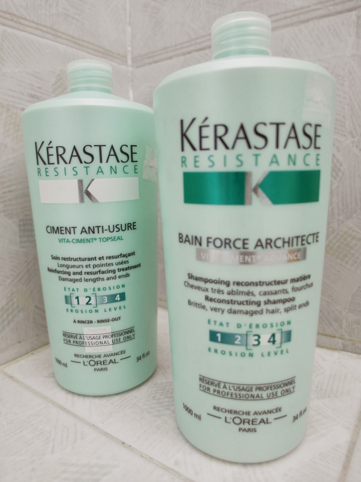 Milliewong k rastase shampoo and conditioner review for Kerastase bain miroir reviews