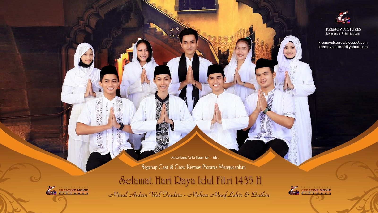 Kremov Mengucapkan Selamat Hari Raya Idul Fitri 1435 H