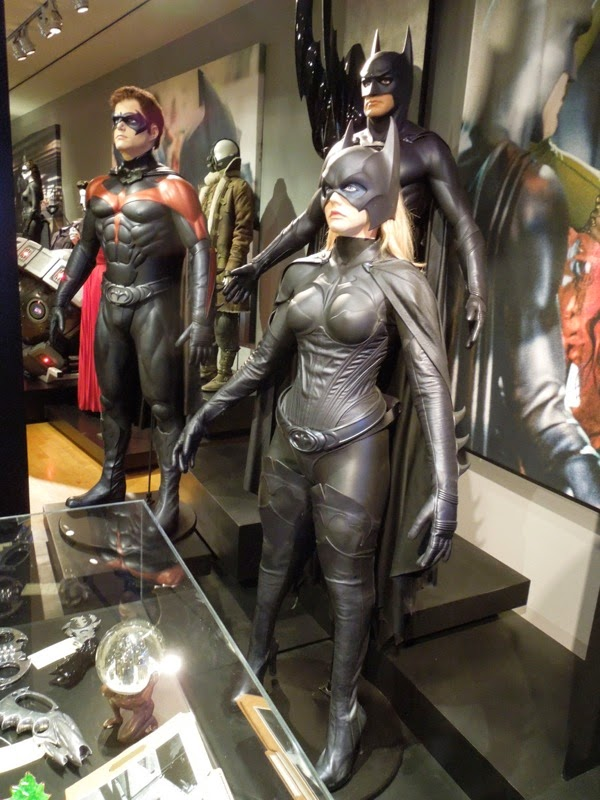 Original Batgirl movie costume Batman Robin