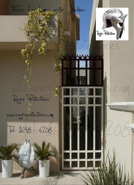 Puerta posterior protector para ventana y agregado a - Puertas para jardin ...
