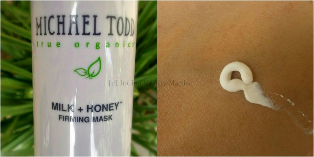 Michael Todd True Organics Milk + Honey Firming Mask