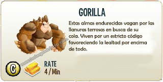 imagen de la descripcion del gorilla de monster legends