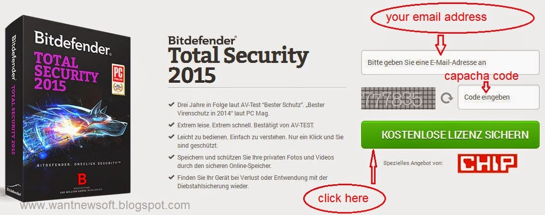 Bitdefender Total Security 2015 promo www.wantnewsoft.blogspot.com image