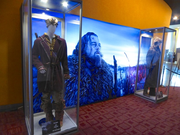 The Revenant film costume exhibit