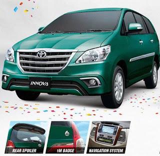 Toyota Innova 1 Million Sales Edition, Wow Keren