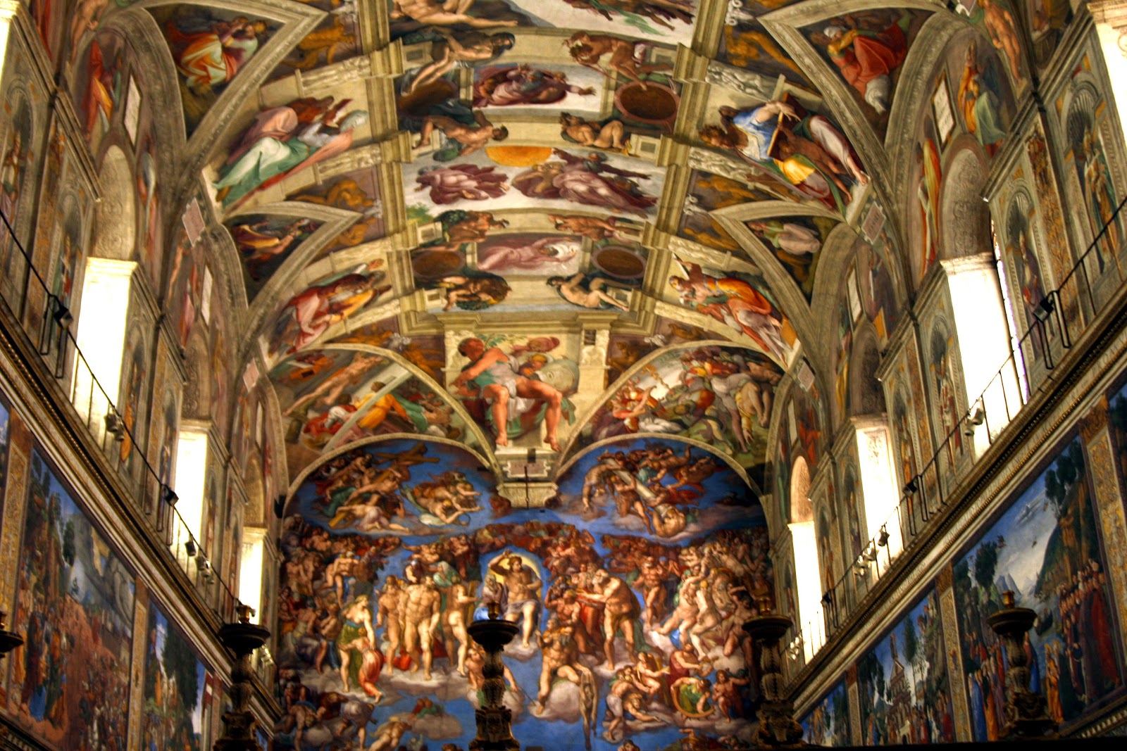 sistine chapel ceiling high resolution images amp pictures