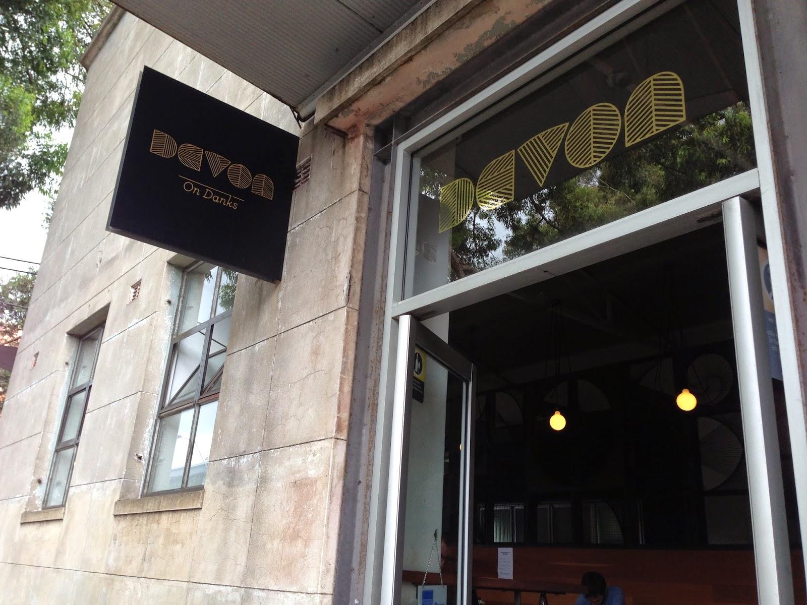 sydney cafe, devon cafe