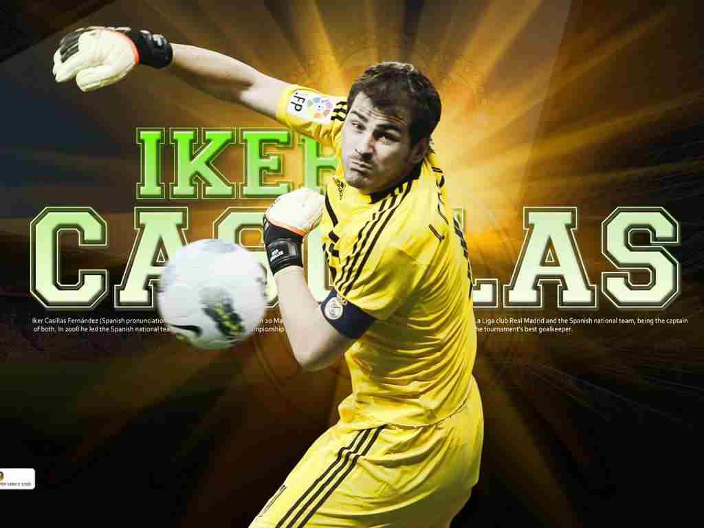 Iker Casillas Football Star HD Wallpapers 2012