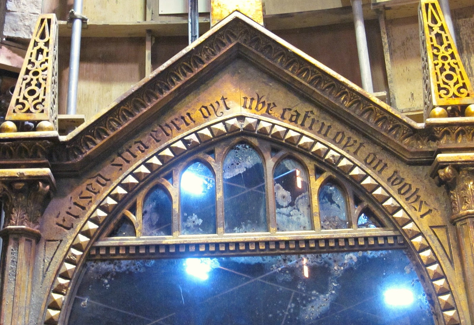 The Mirror of Erised at The Making Of Harry Potter Warner Brothers Studio Tour