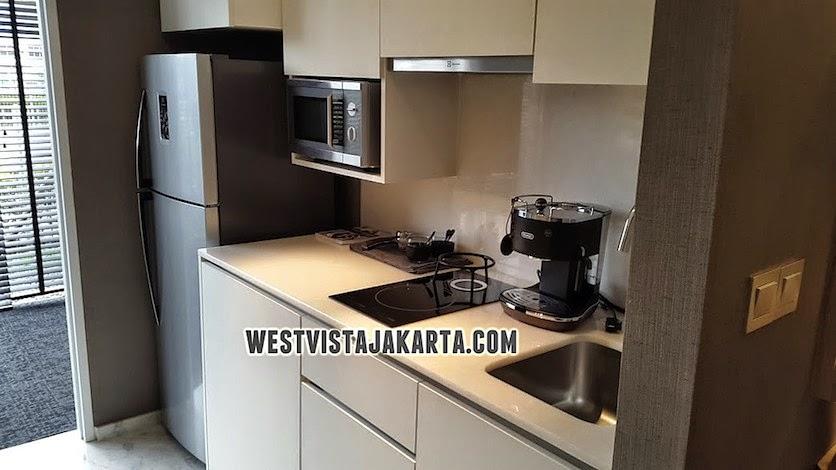 Kitchen Set Apartemen Studio West Vista Jakarta