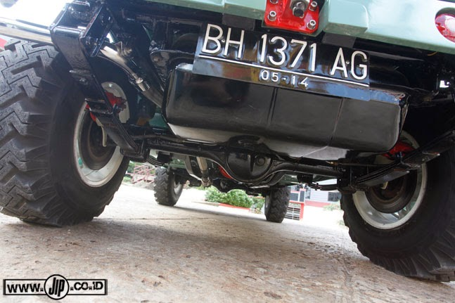ENGINE and AXLE JIMNY LJ80 1980 | dosop
