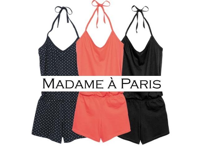 Le combi-short Madame à Paris avec le magazine Public pour 3.65€ de +