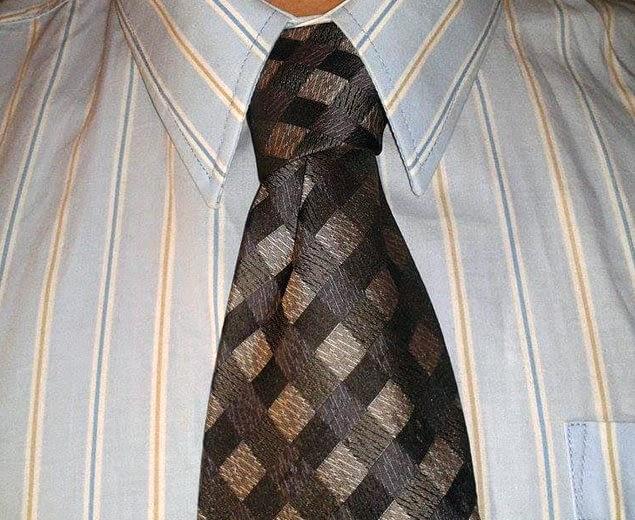 Kaklaraiščio mazgas Nr.8