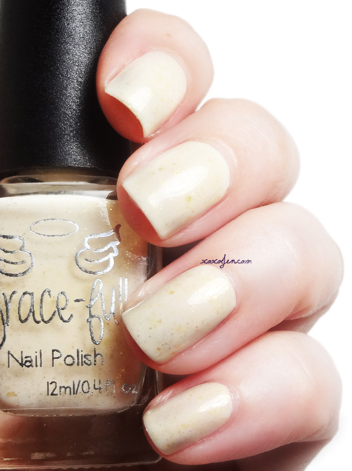 xoxoJen's swatch of Grace-full Butter-ful