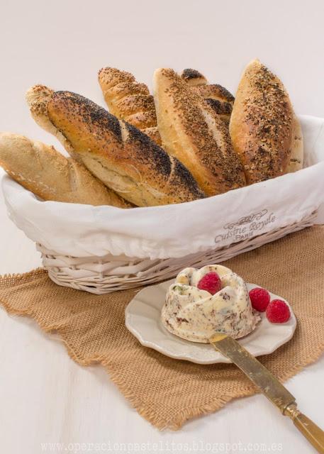 baguete-francés-mantequilla-aromatizada