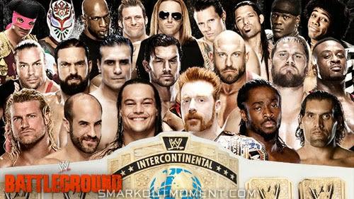 WWE Battleground 2014 wins Intercontinental Championship Battle Royal