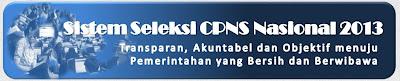Pendaftaran CPNS Online Resmi Dibuka 3 November 2013