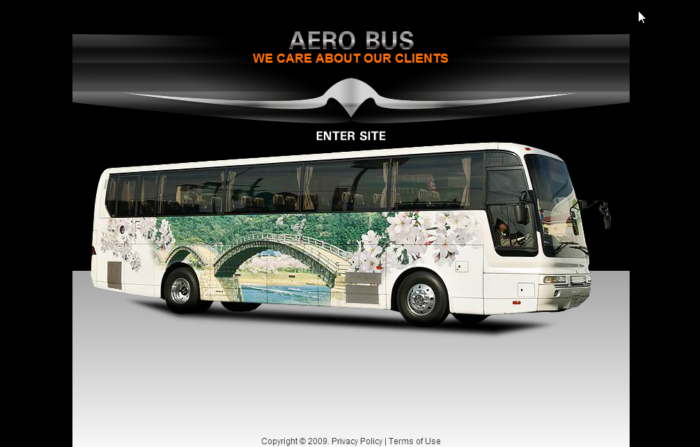 Transportation Template - Free Bus Website template Download | Free ...