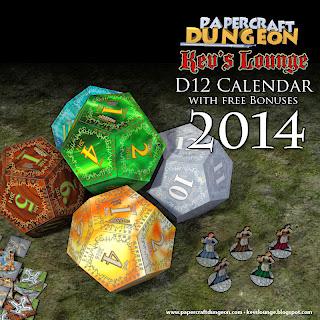 d12 Calendar 2014