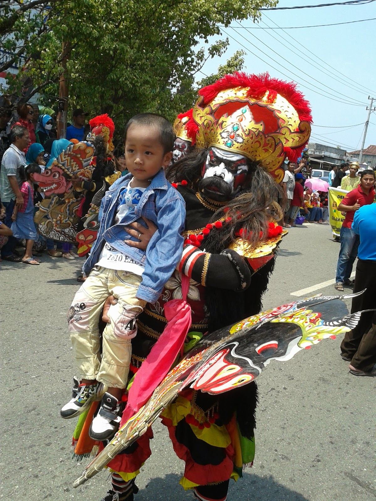 Peserta Bontang City Carnival