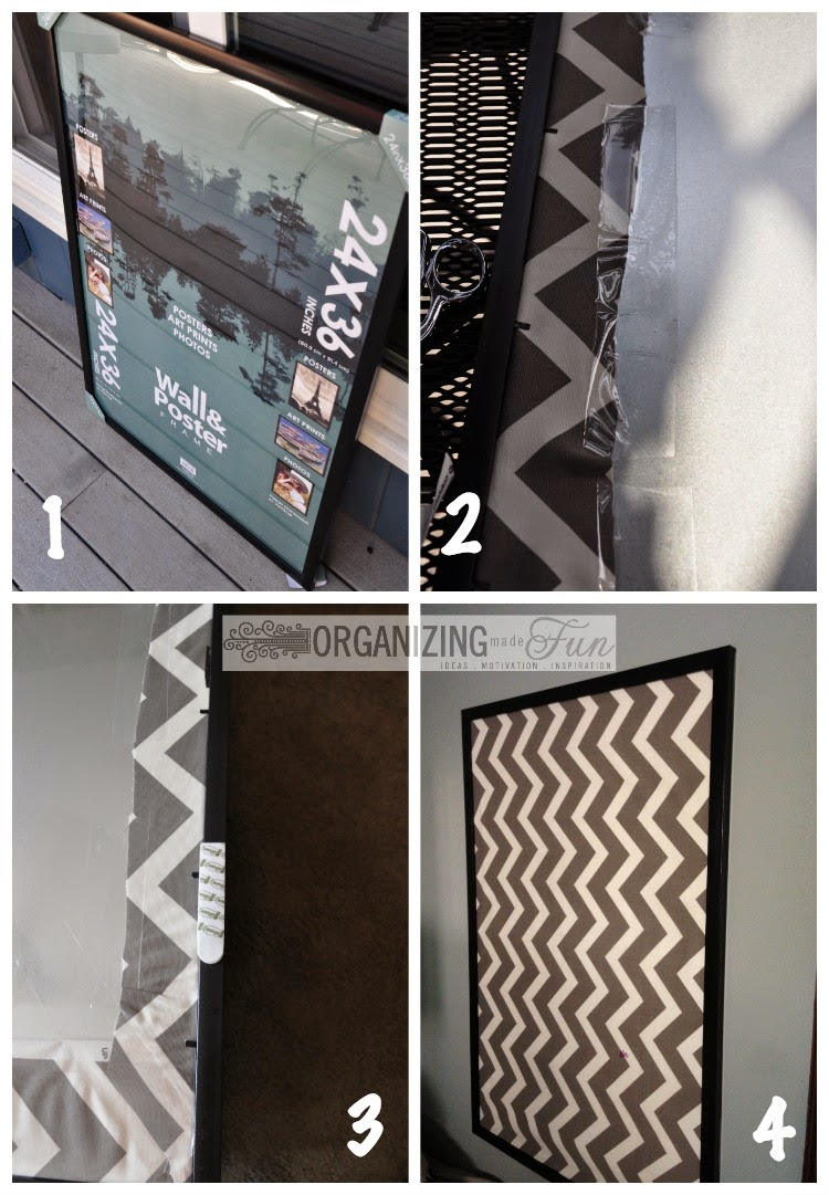 Making a Magnetic Board :: OrganizingMadeFun.com
