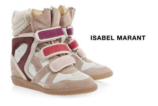 Les sneakers compensées Willow, Isabel Marant