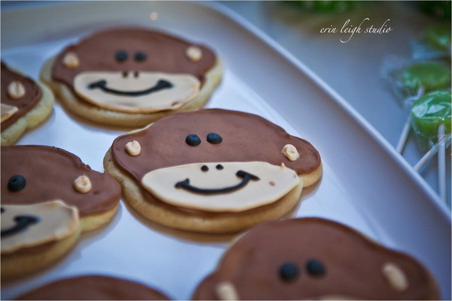 Monkey sugar cookies