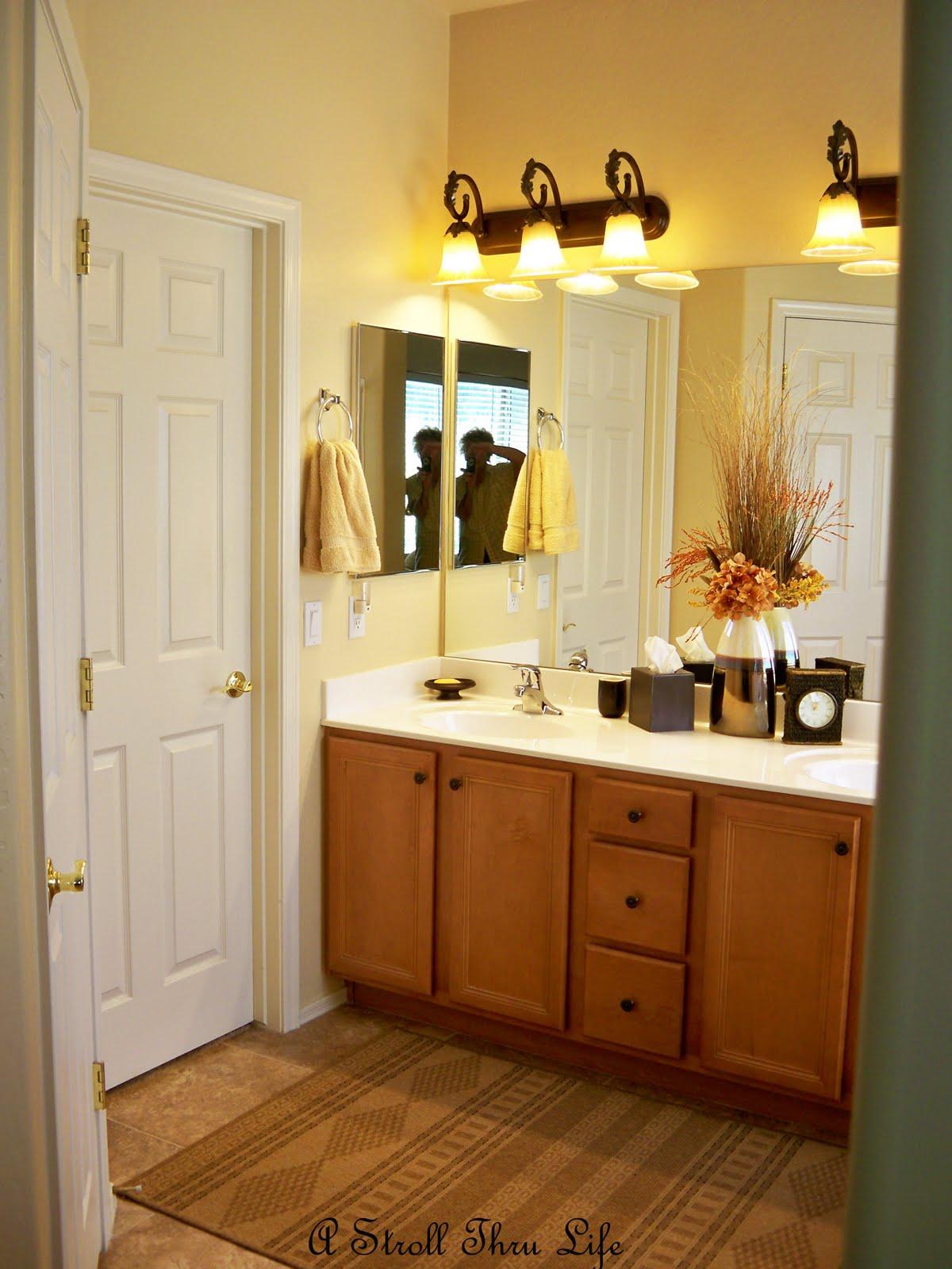 A stroll thru life master bath closet for Master bathroom and closet