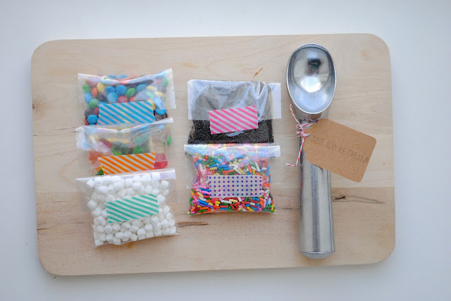 End of the year teacher gifts diy ice cream sundae kits for Coole geschenkideen fa r freundin